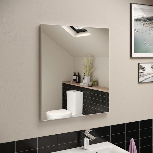 Ideal Standard framed mirror 600 x 700mm