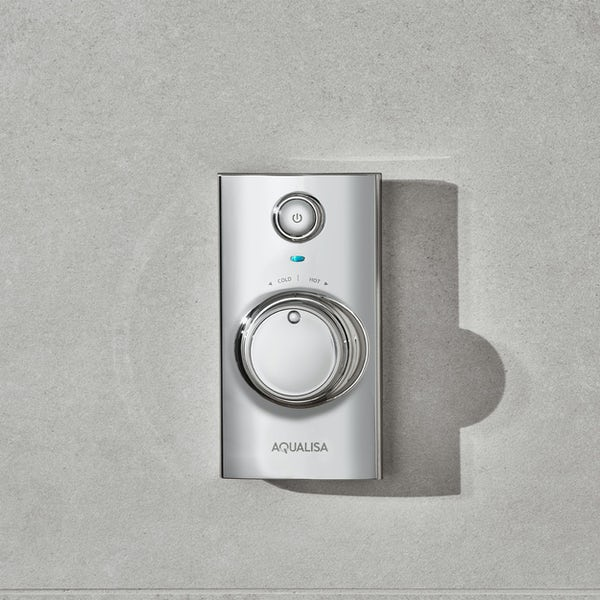 Aqualisa Visage Q Smart concealed shower pumped with adjustable handset