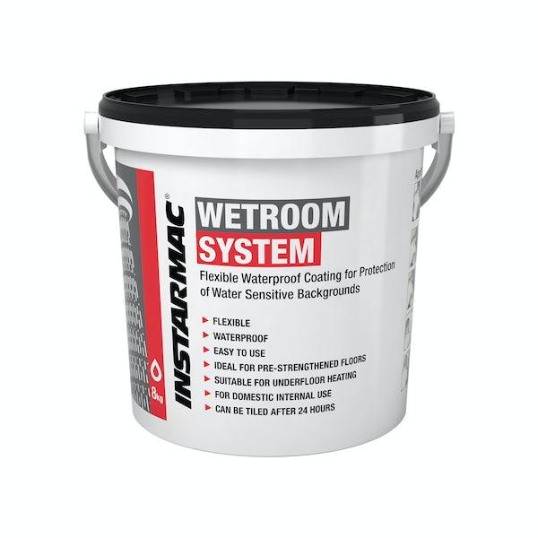 Ultra Tile wet room system