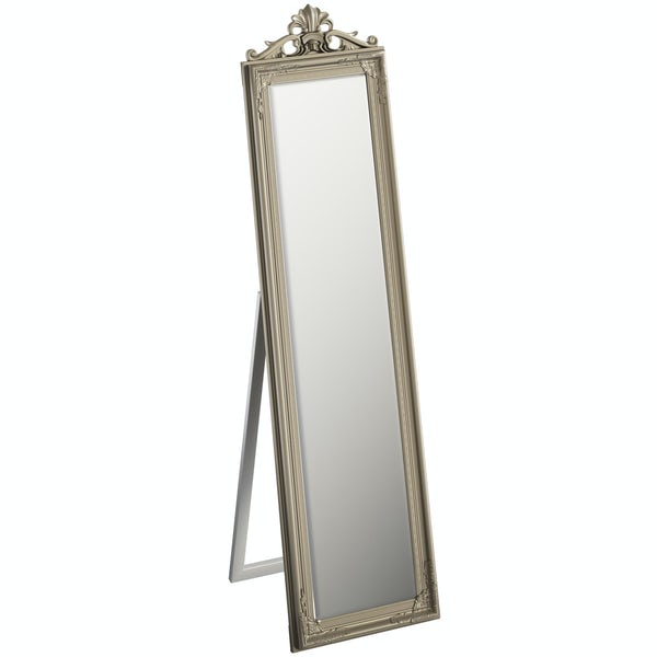 Innova Kensington silver cheval mirror