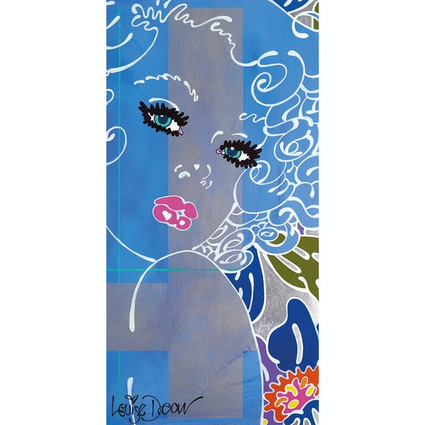 Louise Dear Coo..ee! acrylic shower wall panel 2440 x 1200mm