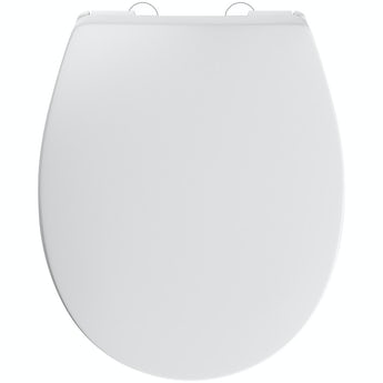 Slim luxury top fixing soft close universal toilet seat
