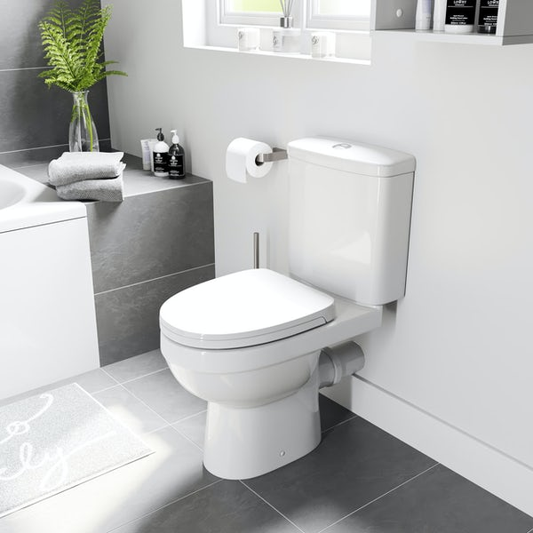 Orchard Thames close coupled toilet with soft close toilet seat