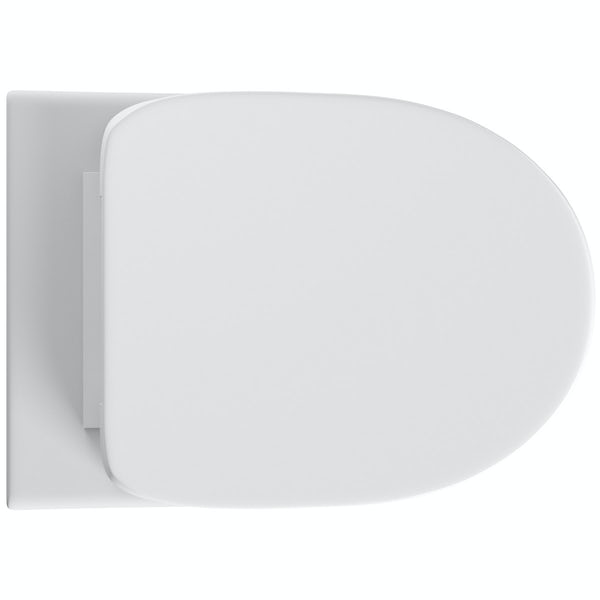 Orchard Eden back to wall toilet with soft close seat and concealed cistern