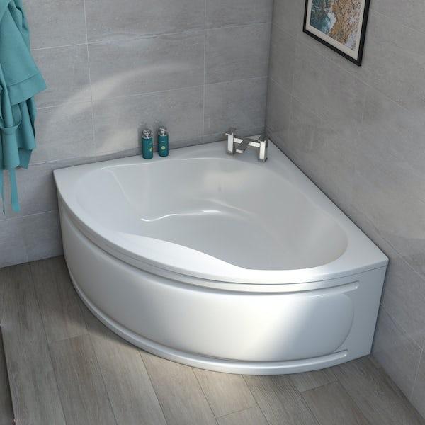 Orchard Wharfe complete corner bath suite