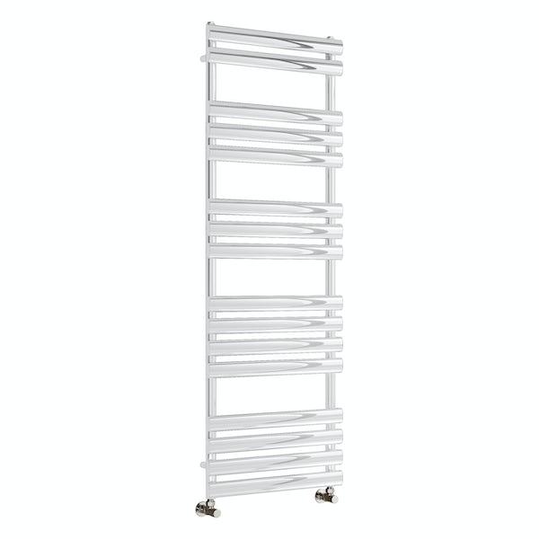 Reina Arbori white steel designer radiator