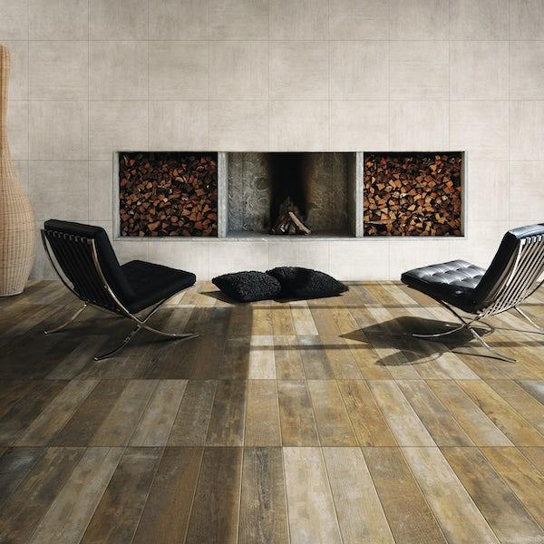 Antique Wood tile 150mm x 600mm