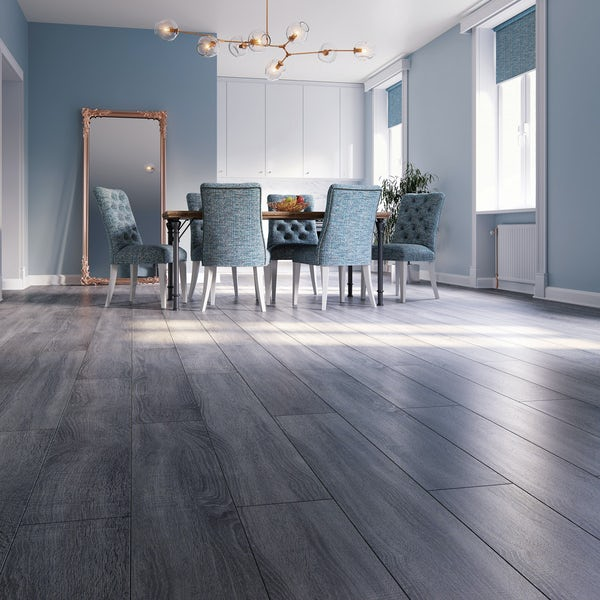 Malmo Rigid click tile embossed & matt 5G Linus flooring 5.5mm