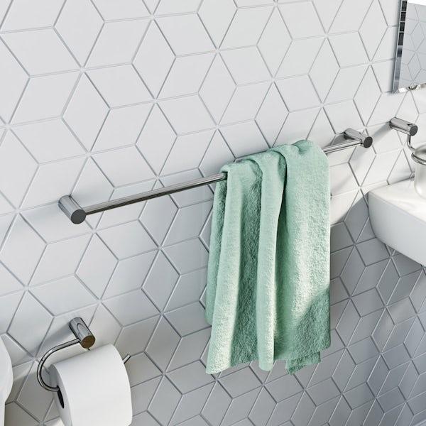 Clarity towel rail
