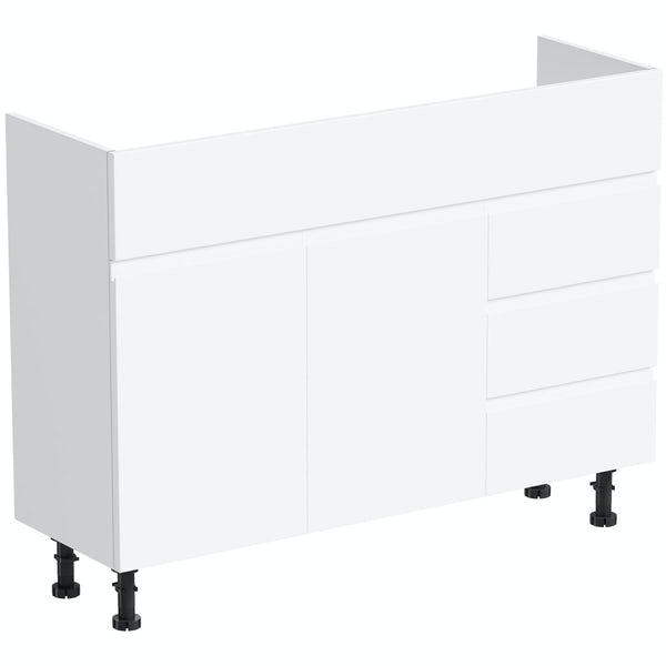 Orchard Wharfe white vanity unit 1050mm