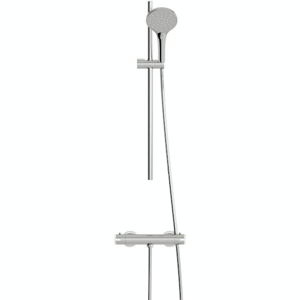 Mode Harrison thermostatic slider rail mixer shower