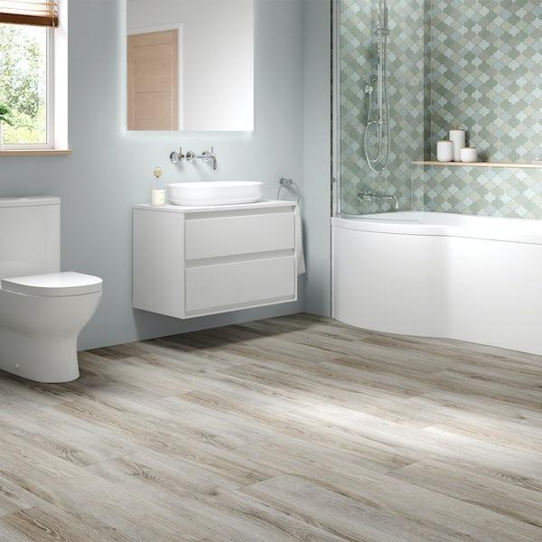 Malmo Senses Rigid click plank embossed 5G Brant flooring 5.5mm