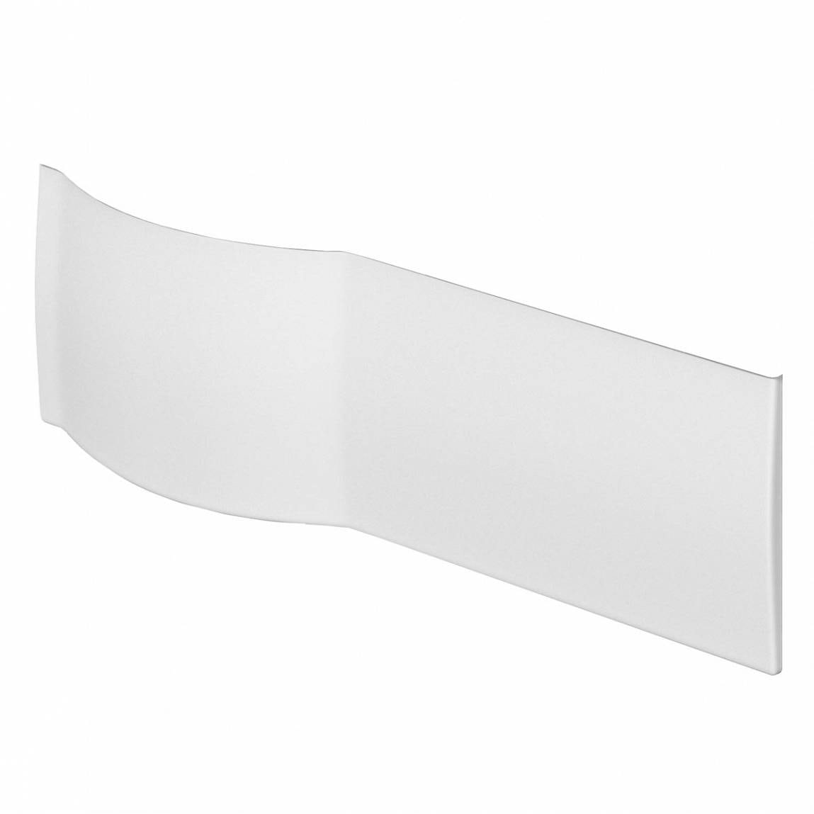 Orchard P shaped shower bath acrylic front panel 1500mm