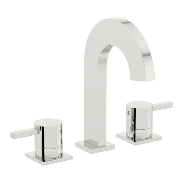 Harrison 3 tap hole bath mixer tap