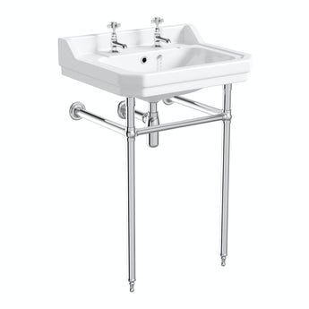 The Bath Co. Traditional washstand with Camberley basin 610mm