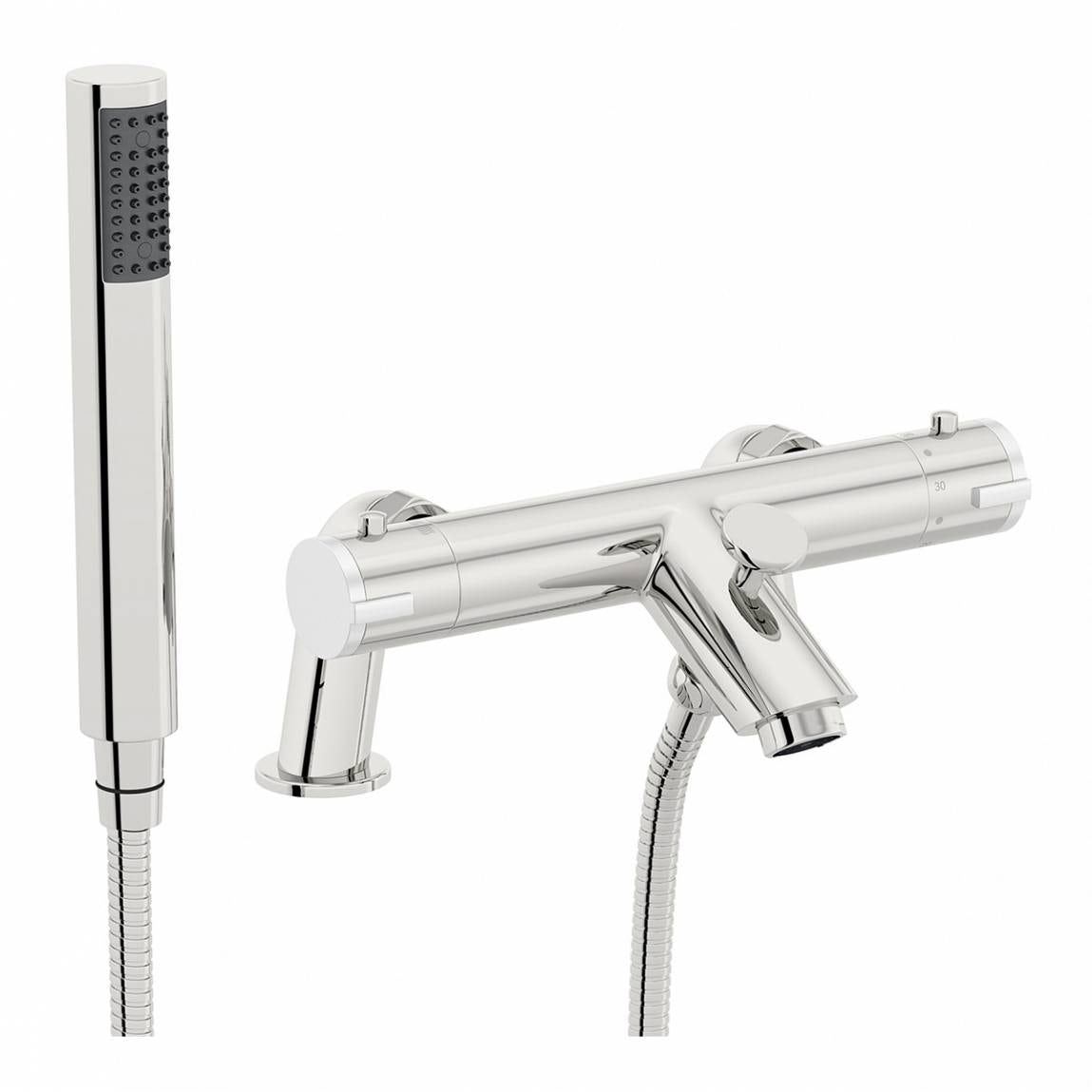 Orchard Wall Or Deck Mount Thermostatic Bath Shower Mixer