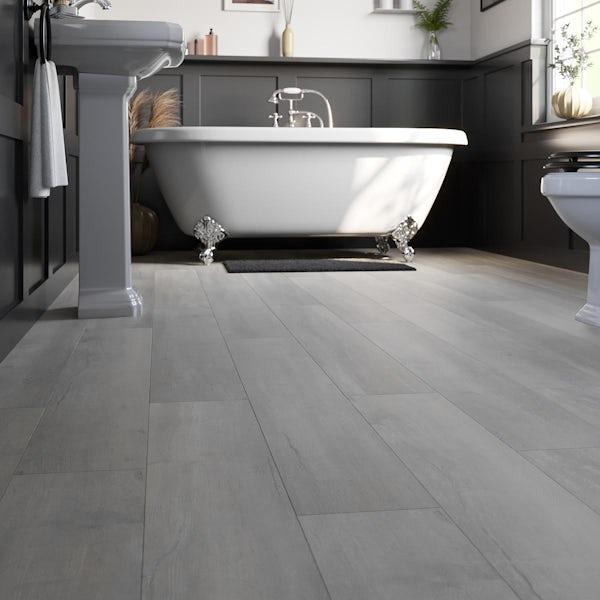 Sable limed oak SPC flooring 5mm