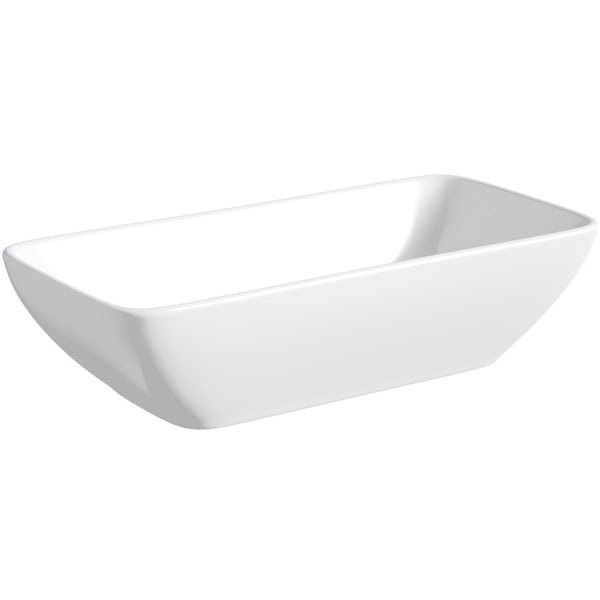 Mode Ellis countertop basin 460mm with waste
