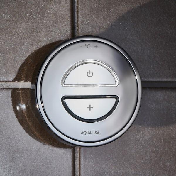 Aqualisa Unity Q Smart concealed shower set standard wall head