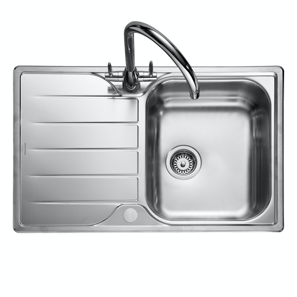 Rangemaster Michigan 1.0 bowl reversible kitchen sink