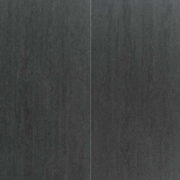 Aqua Step Mini Travertin anthracite waterproof laminate flooring 390mm x 167mm x 8mm