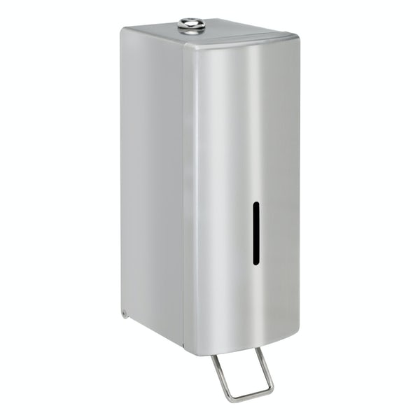 Dolphin commercial surface mounted soap dispenser in mirror polish finish