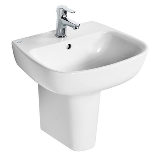 Ideal Standard Studio Echo 1 tap hole semi pedestal basin 500mm