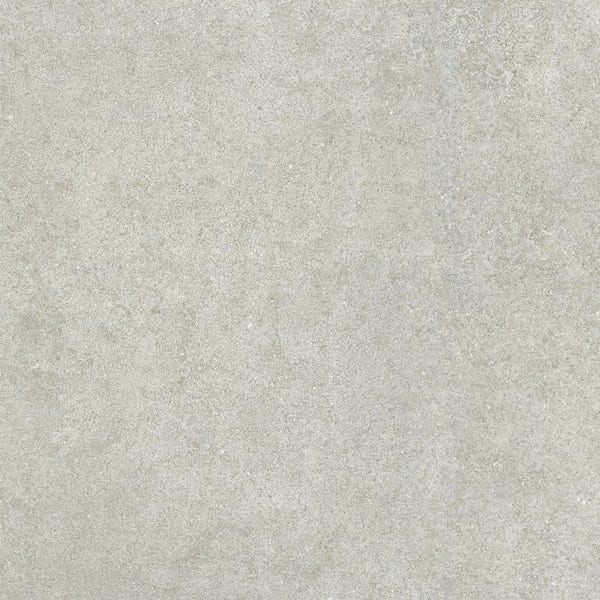 Fontana dark grey flat stone effect matt wall and floor tile 600mm x 600mm