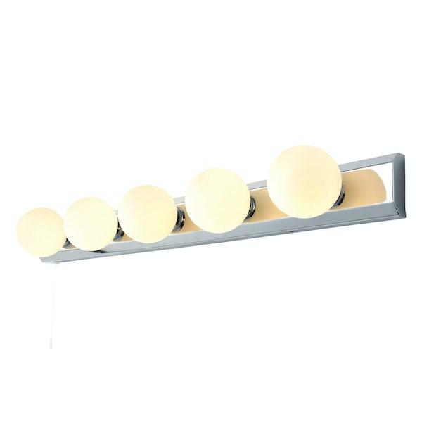 Forum Ara Hollywood 3 light bathroom bar wall light