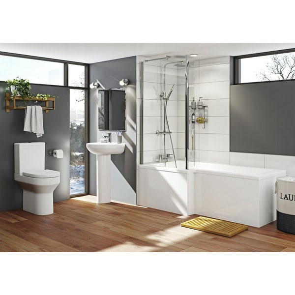 Orchard Wharfe Bathroom Suite With Left Handed L Shaped
