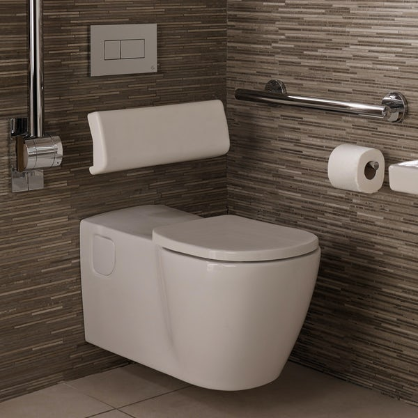 Ideal Standard Concept Freedom elongated wall hung toilet inc seat
