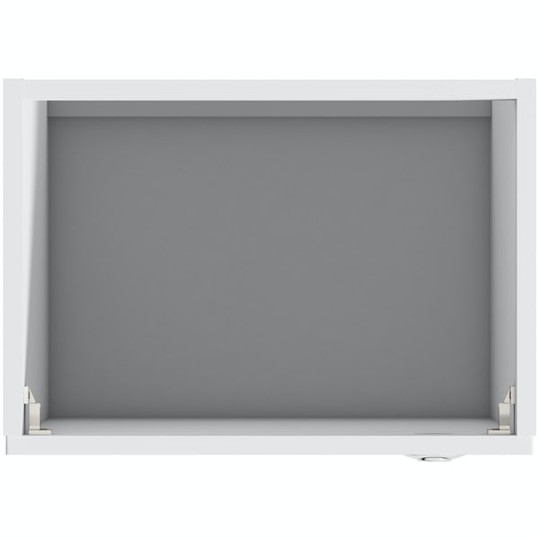 Mode Nouvel gloss white back to wall toilet unit 500mm