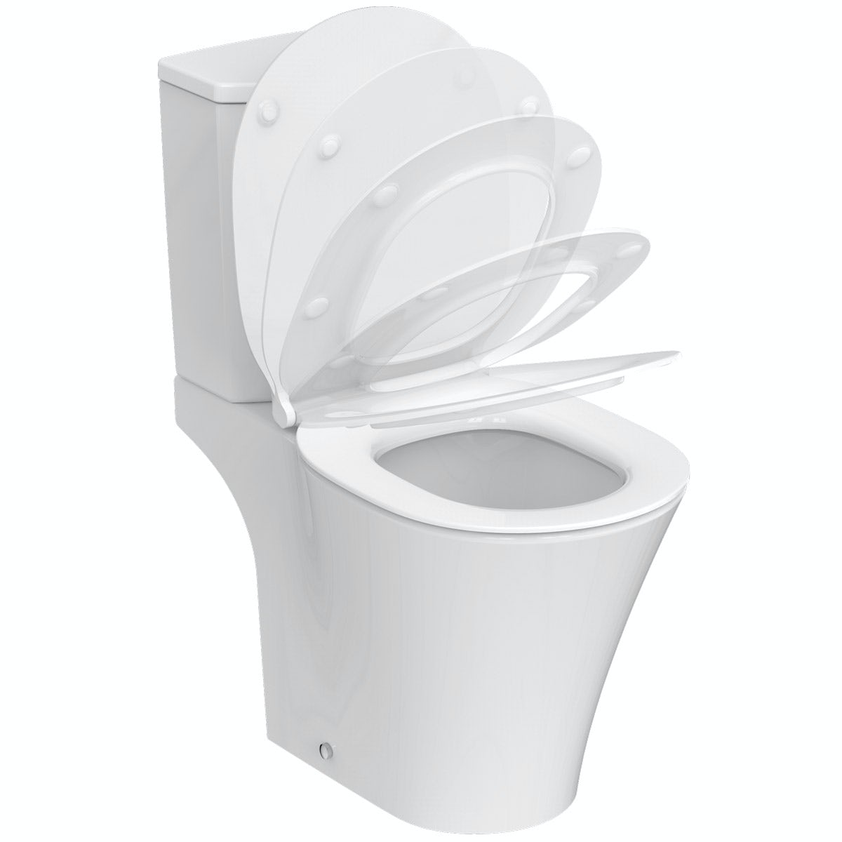 Ideal Standard Concept Air Open Back Close Coupled Toilet