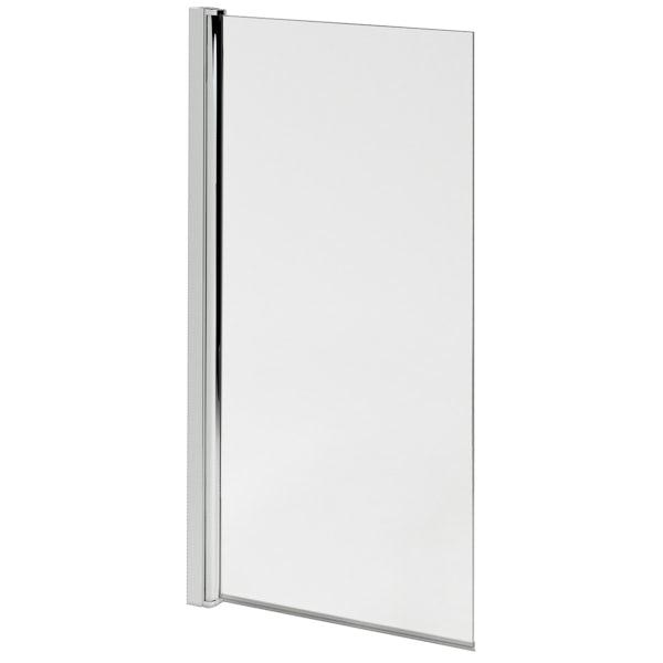 Ideal Standard Tesi straight bath and angle screen 1700 x 700
