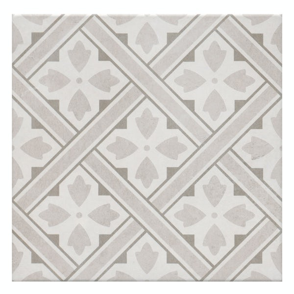 Mr Jones beige tile 330mm x 330mm