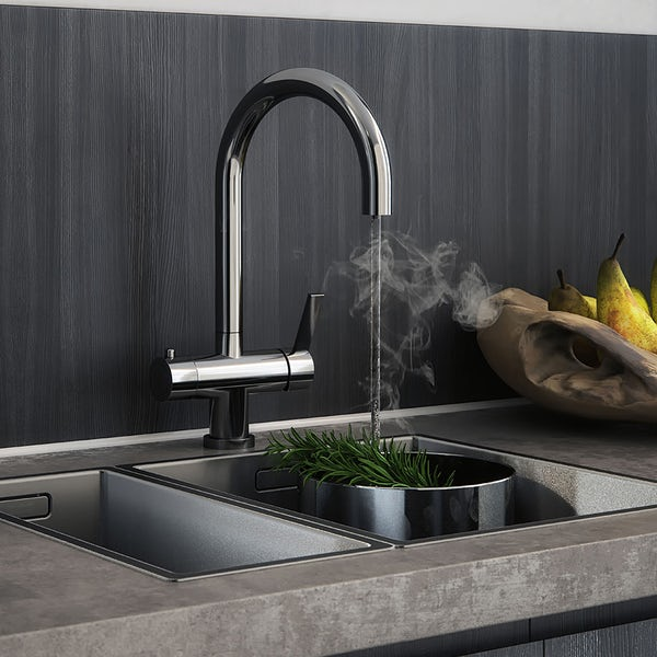 Schon Ramsey chrome 4 in 1 boiling water kitchen tap