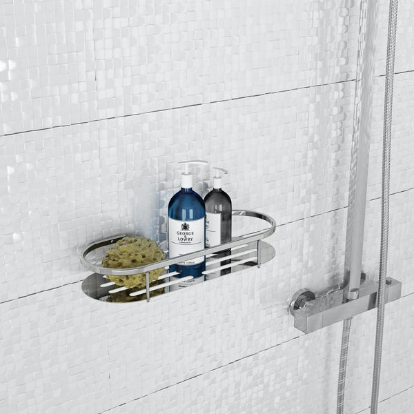 Orchard Options round shower caddy