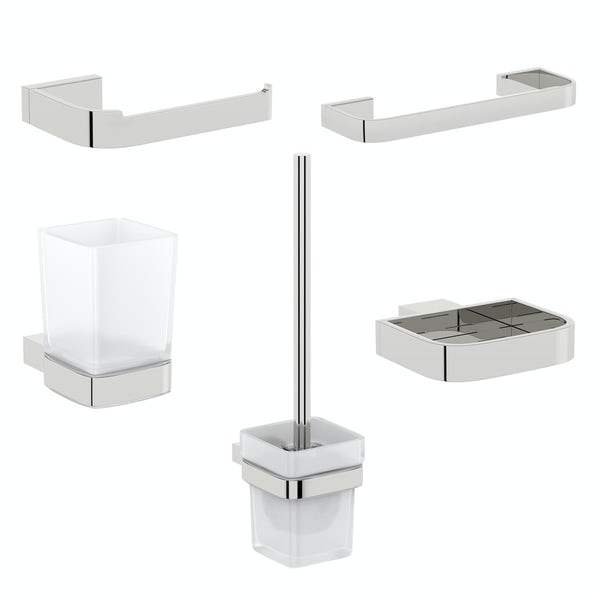 Mode Spencer ensuite 5 piece accessory set