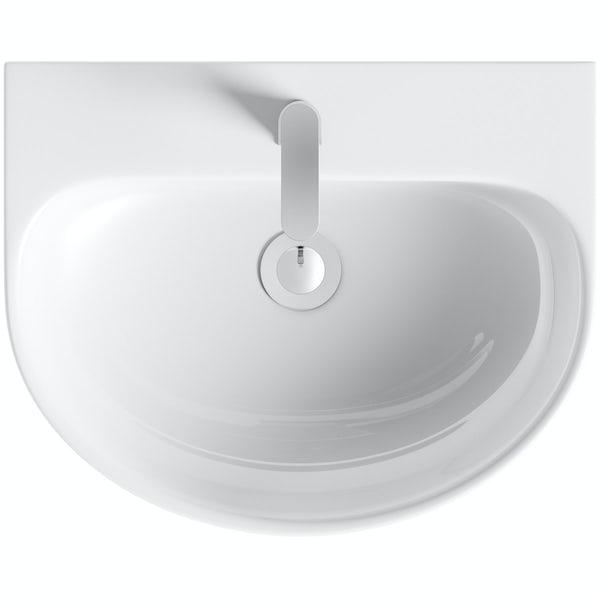 Harrison full pedestal basin 555mm