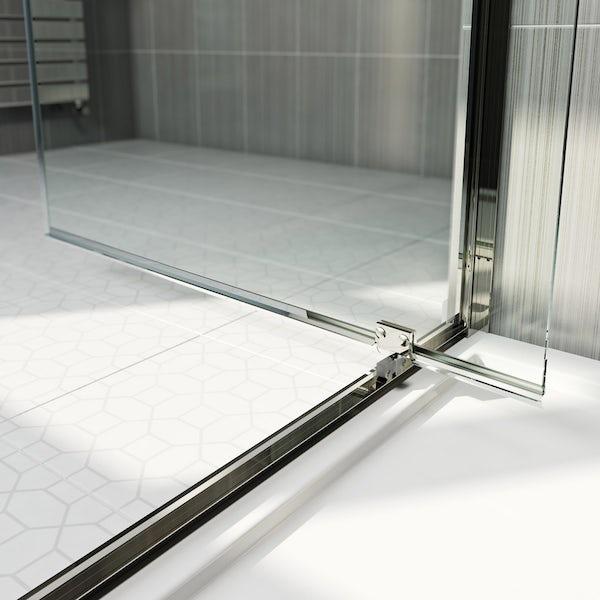 Orchard 6mm pivot hinged shower door