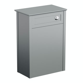 The Bath Co. Camberley satin grey back to wall toilet unit 570mm