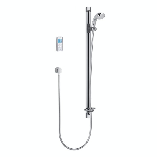 Mira Vision Flex rear fed digital shower pumped