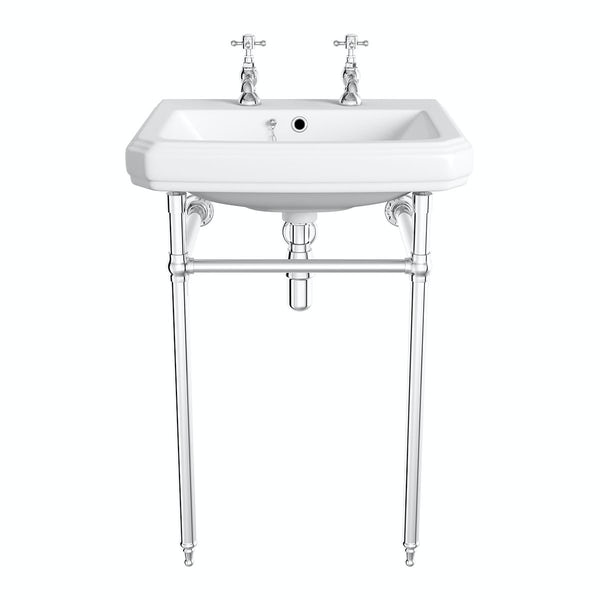 Traditional Washstand with Cavendish Basin