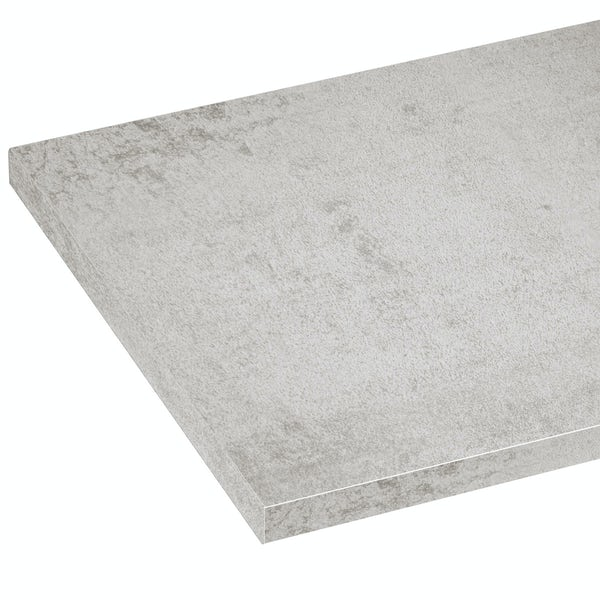 Mode Nouvel pebble grey laminate worktop 353 x 1500mm