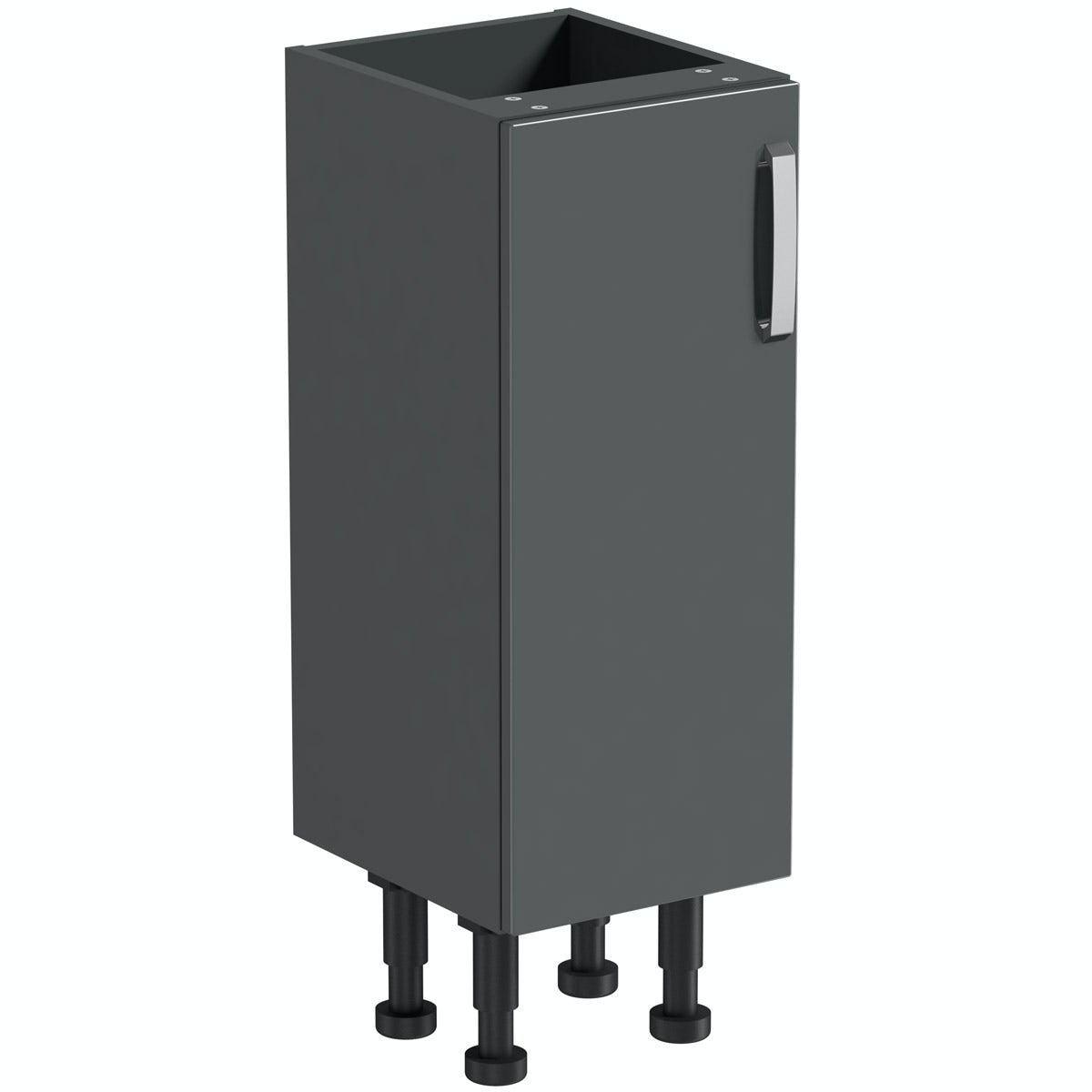 Mode Nouvel gloss grey floor cabinet 300mm