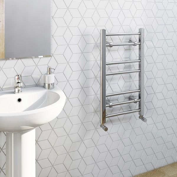 Clarity heated towel rail 700 x 400