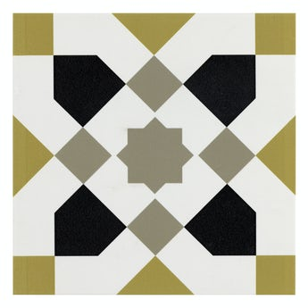 Valencia Ria traditional matt wall and floor tile 200mm x 200mm