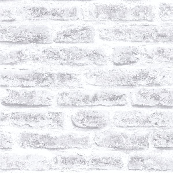 Graham & Brown Superfresco easy grey brick wallpaper
