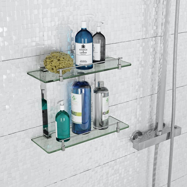 Orchard Options double glass shelf