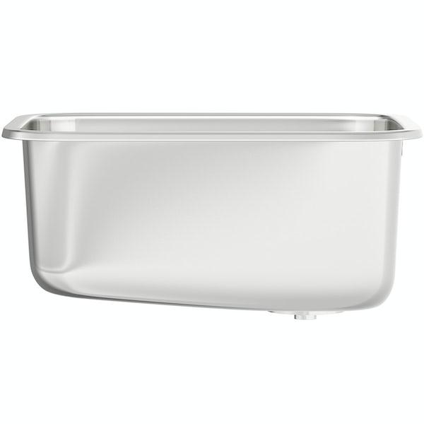 tuscan Florence stainless steel medium bowl undermount kitchen sink